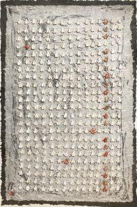 Hiromi Ashlin Escapees 20x36 Origami on Panel