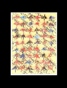 Hiromi Ashlin Kimono 3 14x10 Origami on panel