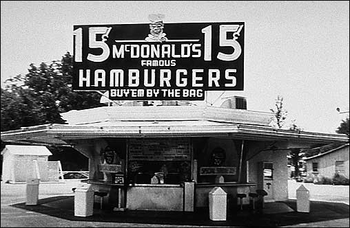 1940s mcdonalds in california