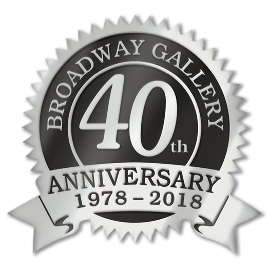 40th anniversary badge