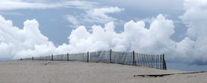 Fred Eberhart, Cloud Fence, digital photograph