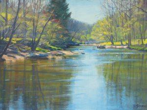 Bradley Stevens, Spring on the Rappahannock, 18