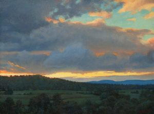 Bradley Stevens, Virginia Sky, x , oil on linen