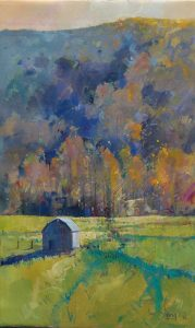 Ken Strong, Canaan Valley Barn, 20X32, Oil on canvas