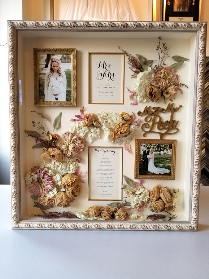 Wedding Shadowbox