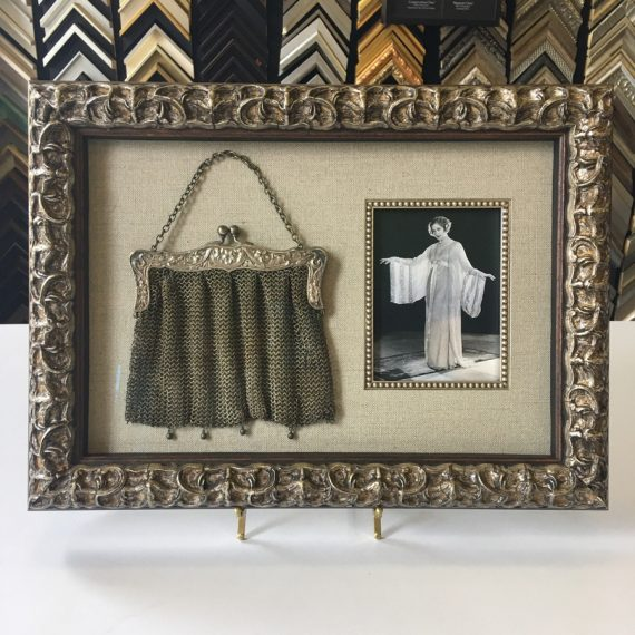 Chain Mail Purse and Photo