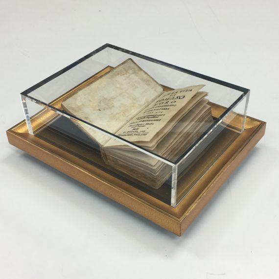 Custom Display Box for 16th Century Book
