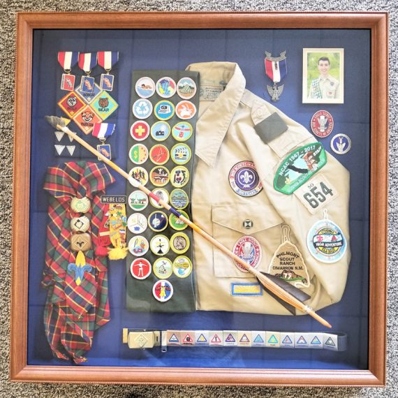 Eagle Scout Shadow Box 02