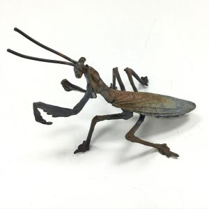 Dan Chen - Praying Mantis, 5x7x5, Bronze SculptureDan Chen - Praying Mantis, 5x7x5, Bronze Sculpture