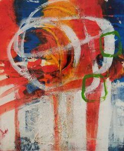 Buck Nelligan Lollipops Acrylic on Paper 7x6 200