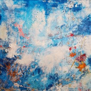 Buck Nelligan Untitled Abstract 1 Acrylic on Canvas 30 x 30 1200