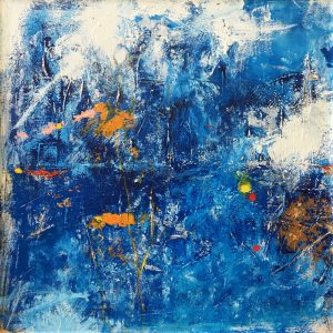 Buck Nelligan Untitled Abstract 2 Acrylic on Canvas 30 x 30 1200