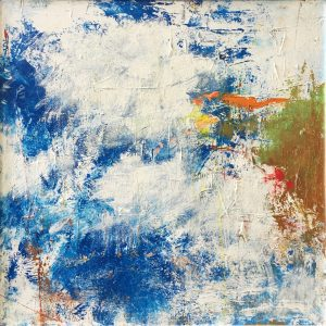 Buck Nelligan Untitled Abstract 3 Acrylic on Canvas 30 x 30 1200
