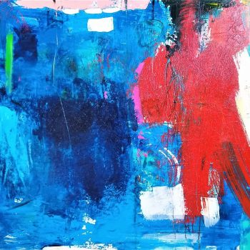 Buck Nelligan Untitled Abstract 8 Acrylic on Canvas 36 x 48 2000