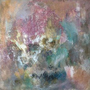 Courtney Kolker Meridiana Due 24x24 Mixed Media on Canvas